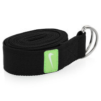Ремень для йоги Nike Essential Yoga Strap Osfm Anthracite/key lime/white